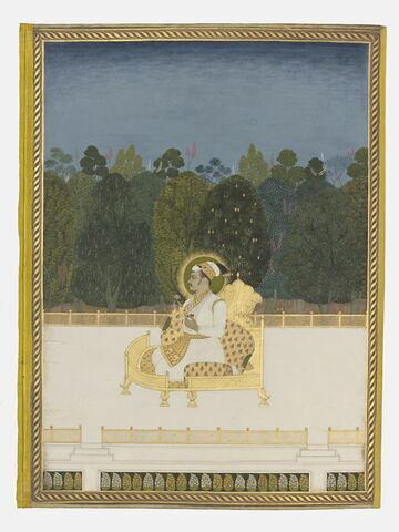 Ahmad Shah (page d'album)