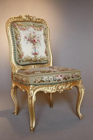 Chaise du salon du Conseil à Fontainebleau, d'un ensemble de 4 (F 575 C1 à C4)