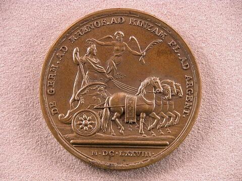 La campagne de 1678 en Allemagne