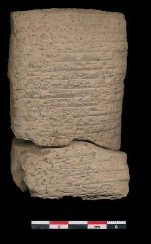 dos, verso, revers, arrière © 2019 Musée du Louvre / Antiquités orientales