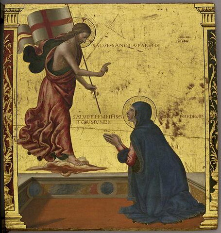 L'Apparition du Christ à la Vierge