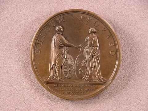 Mariage de la princesse Louise-Elizabeth avec l'infant d'Espagne Don Philippe
