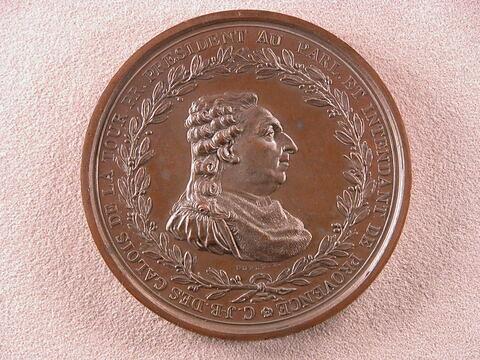Médaille offerte à C. J-B des Galois de La Tour / Le Tiers-Etat de Provence à des Galois de La Tour