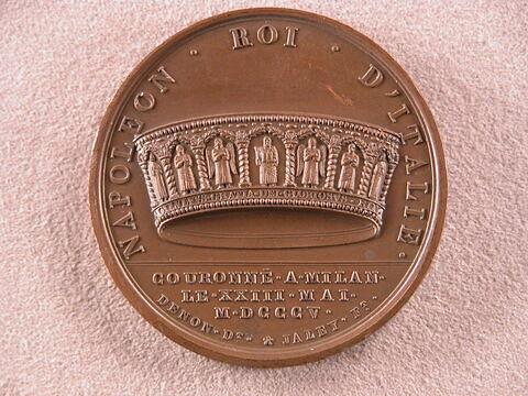 Napoléon roi d'Italie / Couronnement à Milan