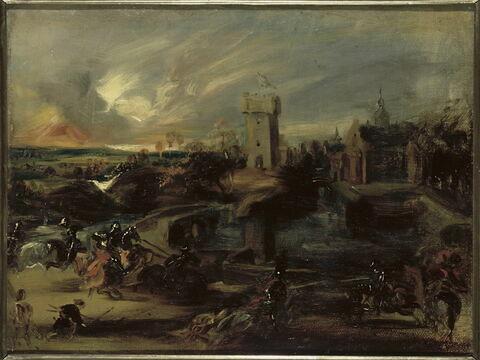 Le Tournoi, d'après Rubens