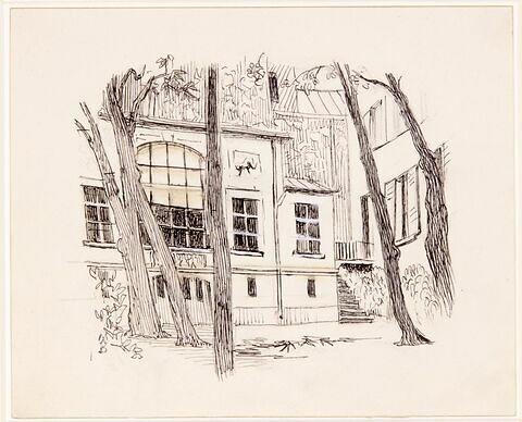 L'atelier de Delacroix
