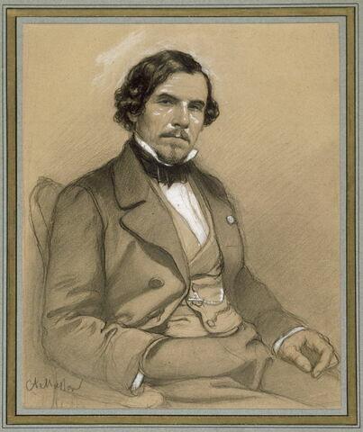 Portrait de Delacroix