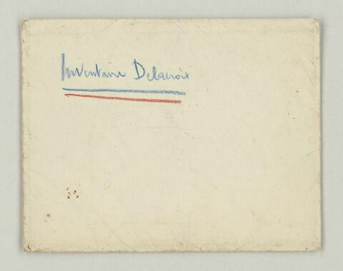 "Enveloppe ""Inventaire Delacroix"""