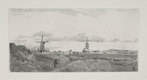 """Album du """"VoMoulins en Hollandeyage en Hollande"""". 1854, d'après Constant DUTILLEUX-"""