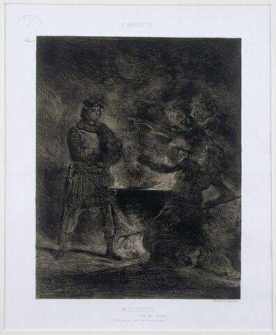 Macbeth consultant les sorcières (5e état)