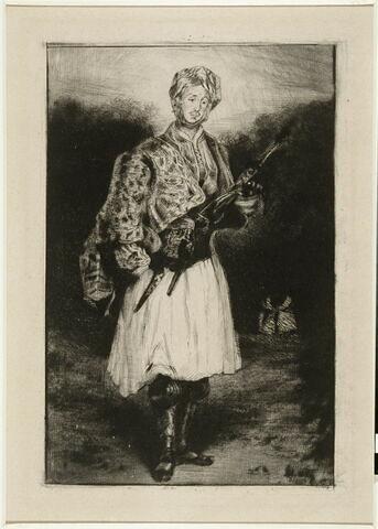 Le comte Palatiano, d'après Delacroix