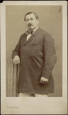 Portrait-carte de Louis Lassalle