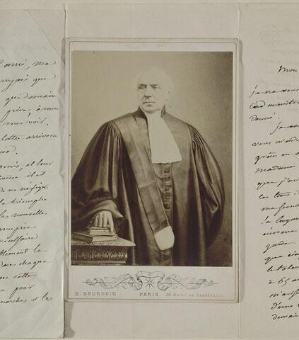 Portrait de Pierre-Antoine Berryer