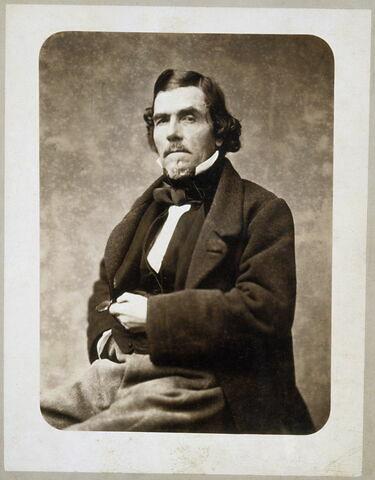 Portrait de Delacroix au monocle
