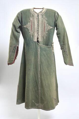 Manteau masculin en drap de laine