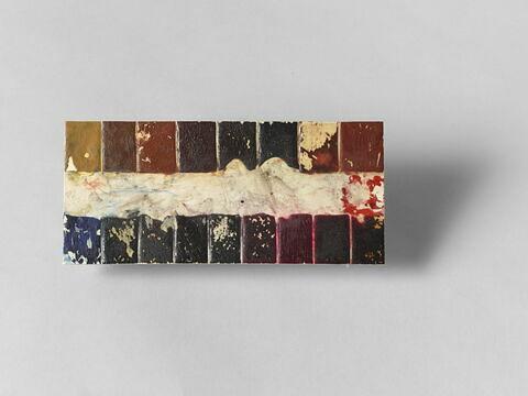 Plaquette d'ivoire ayant appartenu à Delacroix