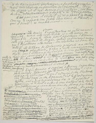De Ingres naturaliste à Delacroix poète