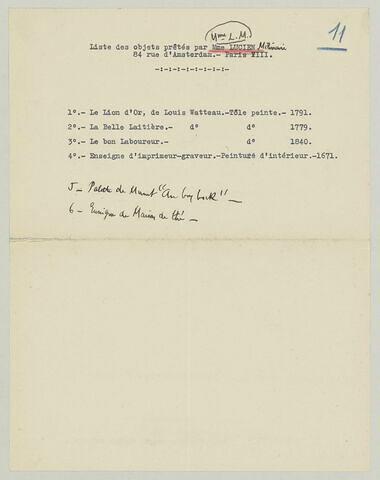L R. Courtois à Charles Fegdal, 21 février 1935
