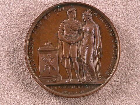 Napoléon et Marie-Louise d'Autriche, mariage le 1er avril 1810