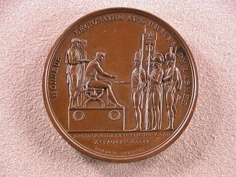 Distribution de croix de la Légion d'Honneur au camp de Boulogne-sur-Mer en 1804 / Serment de l'armée d'Angleterre à Napoléon