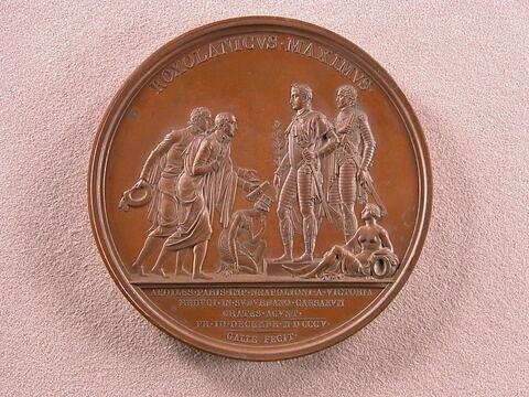 Napoléon et Murat reçoivent les maires de Paris / Défaite de l'Autriche à Schönbrunn, 1805
