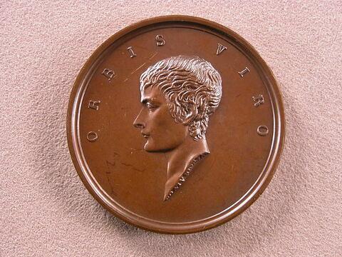 A Bonaparte, consul à vie de la France, en mémoire de la paix conclue à Lunéville, la Suisse libre reconnaissante, an 1802
