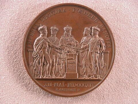 Première paix de Paris / Premier traité de Paris, 12 mai 1814