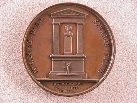 Monument élevé à Jeanne d'Arc, 1820