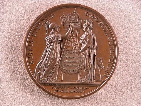 Accession de la France à la Sainte Alliance, novembre 1815