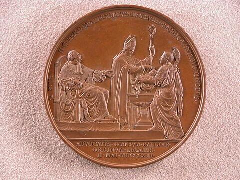 Baptême du duc de Bordeaux, 2 mai 1821