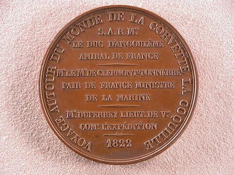 Voyage autour du monde de la corvette La Coquille, 1822