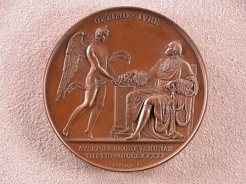 Avènement de Louis XVIII à Vérone, 8 juin 1795
