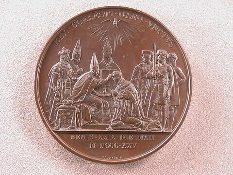 Sacre de Charles X – L'onction, 29 mai 1825
