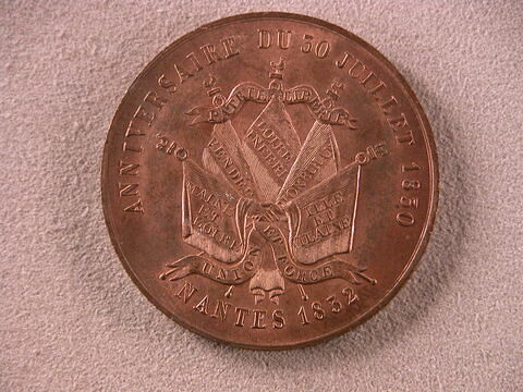 Anniversaire du 30 juillet 1830, Nantes 1832