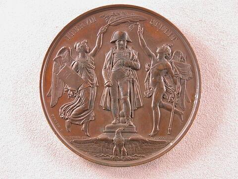 Rétablissement de la statue de Napoléon I sur la colonne Vendôme, 28 juillet 1833