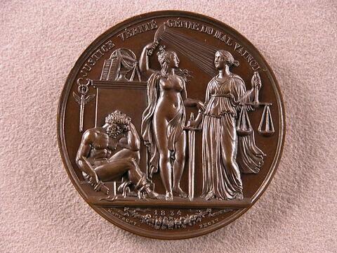 La vérité brise les guerres, 1834