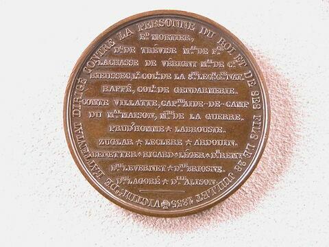 Hommage aux victimes de l'attentat dirigé contre Louis-Philippe et ses fils, 28 juillet 1835