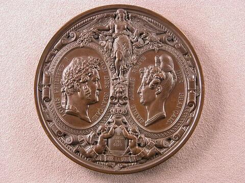 Visite de Ferdinand II roi des Deux-Siciles et du prince de Salerne à la Monnaie des médailles, 12 août 1836