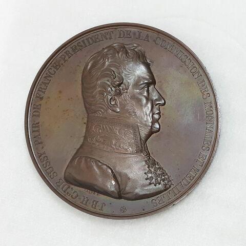 Au comte Jean-Baptiste Henry Collin de Sussy, 1833