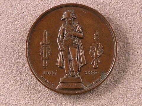 Statue de Napoléon, 1833