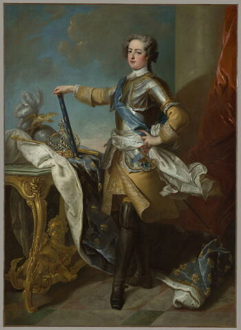 Portrait de Louis XV, roi de France et de Navarre (1710-1774)