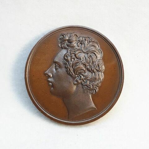 Hommage rendu à Mercier, 1834