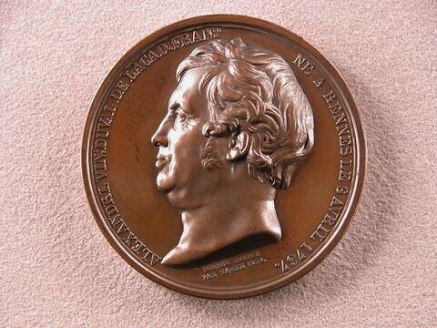 Hommage à Alexandre Vincent Duval de l'Académie française, 1834