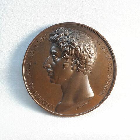 Oscar Ier, prince héritier du royaume de Suède et de Norvège, devient chancelier de l'université d'Uppsala (1818)