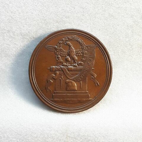 Célébration du premier anniversaire de la République romaine, 15 février 1799