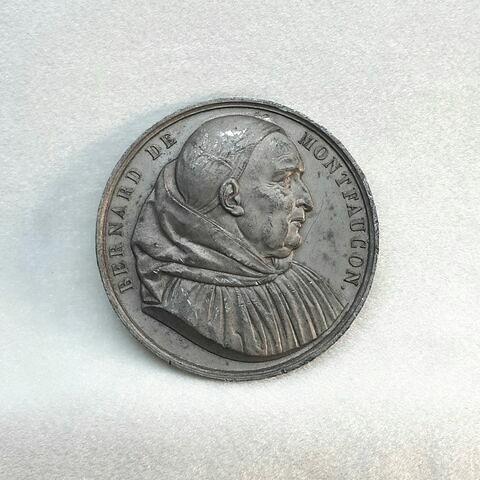 Médaille de la Société des Antiquaires de France à l'effigie de Bernard de Montfaucon