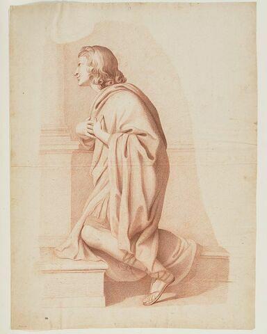 Saint Valérien agenouillé