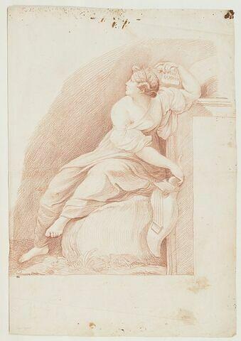 Sapho dans le Parnasse du Vatican