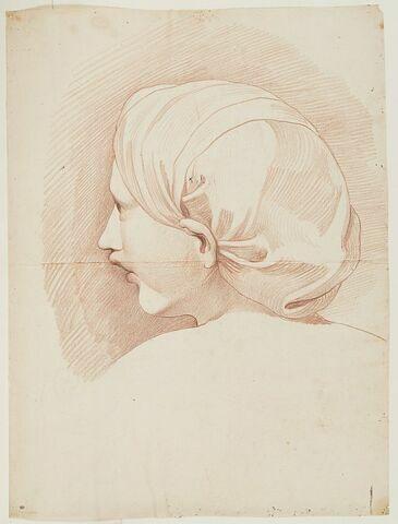 Tête d'une déesse (Hébé ou Omphale)