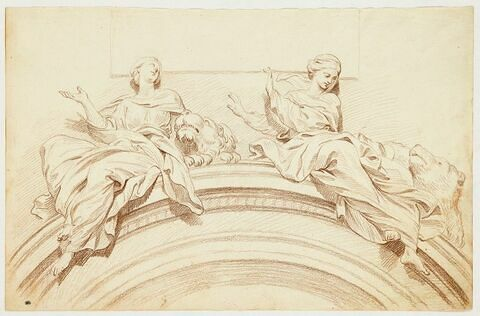 Sainte Thècle et sainte Apolline